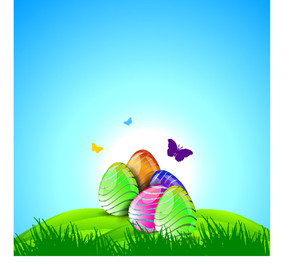 Easter Celebrations Background