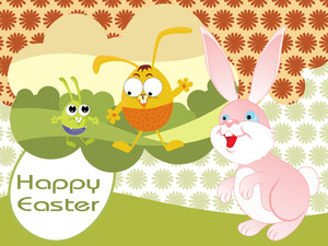 Easter Day Illustration