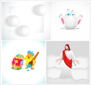 Easter Designs Vectors