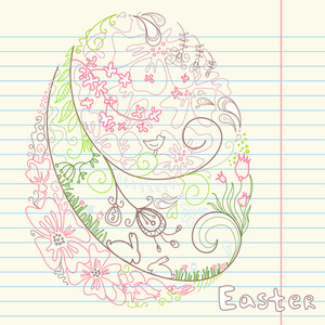 Easter Doodles-