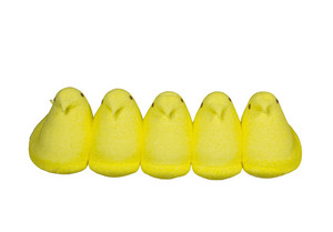 Easter Peeps With Clipping Path 164