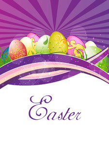 Easter Vector Illustration.