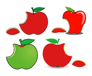 Eaten Apples