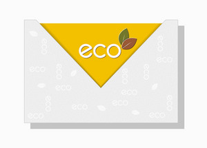Eco Background Vector Illustration