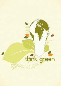 Eco Friendly Design Vector Illustration