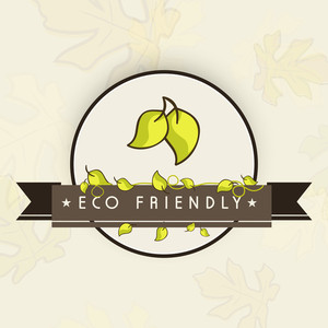 Eco Friendly Nature Concept With Green Leaves