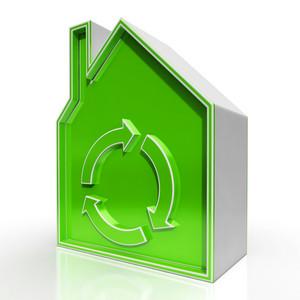 Eco House Shows Environmentally Friendly Home
