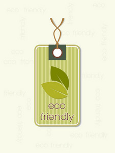 Eco Tag Vector Illustration