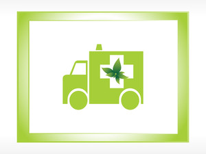 Ecolfriendly Green Ambulance With Frame