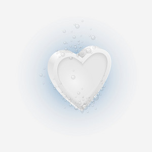Effervescent Tablet In Shaped Heart