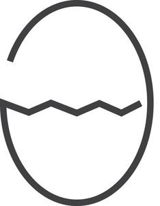 Egg Minimal Icon