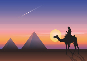 Egyptian Theme Vector