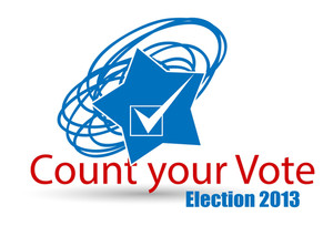 Election Day Count Your Vote America - Vector