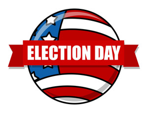 Election Day Vector Illustration