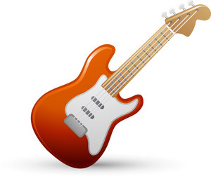 Electric Guitar Lite Music Icons