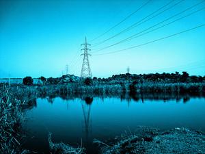 Electricity Poles Landscape