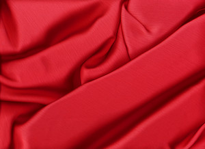 Elegant And Soft Red Satin Background