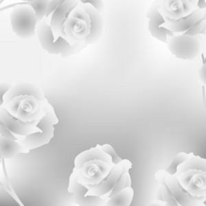 Elegant Background With Roses
