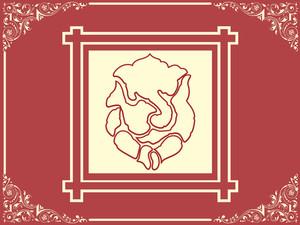 Elephant God Ganesha Abstract Design32