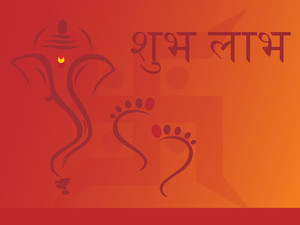 Elephant God Ganesha Abstract Design36