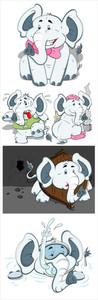 Elephant Vector Illustrations