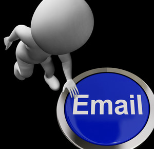 Email Button For Emailing And Internet Communication