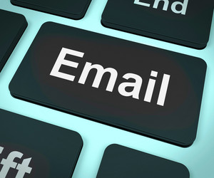 Email Computer For Emailing Or Contacting