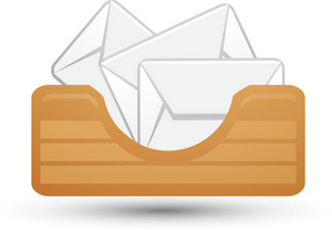Email Inbox Lite Communication Icon