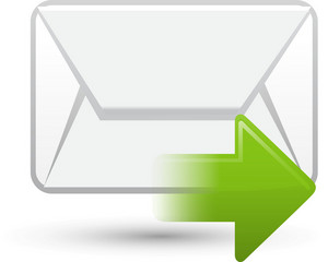 Email Sending Lite Ecommerce Icon