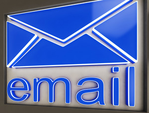 Email Sign Button Shows Online Correspondence