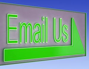 Email Us Button Showing Information Provider