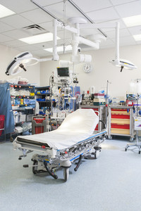 Emergency room in hospital