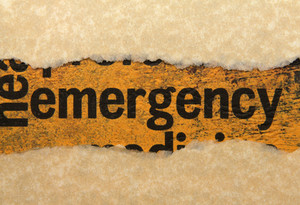 Emergency Torn Paper