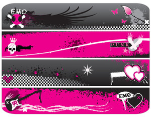 Emo Banners