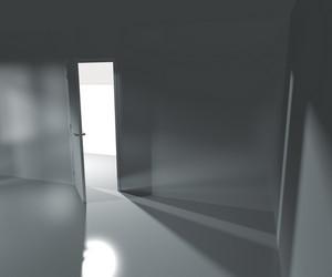 Empty Interior Rendered Background