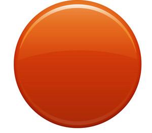 Empty Orange Circle