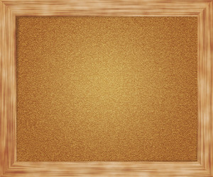 Empty Pin Board Background
