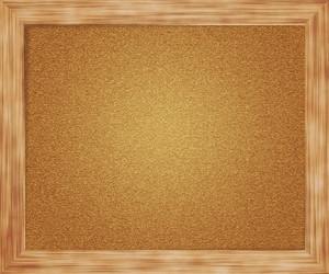 Empty Pin Board Background