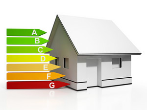 Energy Efficiency Rating And House Showing Conservation
