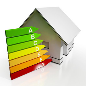 Energy Efficiency Rating And House Shows Conservation