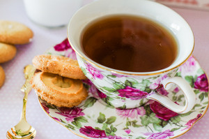 English Tea With Cookies