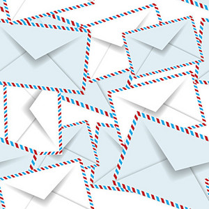 Envelope Letters Background