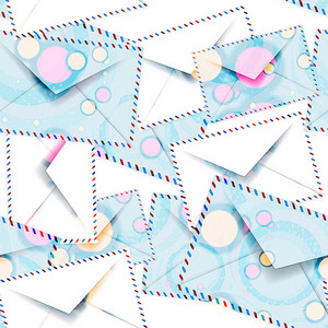 Envelopes  Seamless Texture