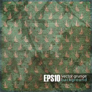 Eps10 Vintage Background With Birds
