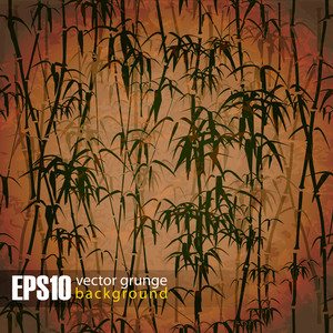 Eps10 Vintage Bamboo Background