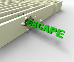Escape From Maze Shows Jailbreak