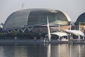 Esplanade drive architecture. Singapore