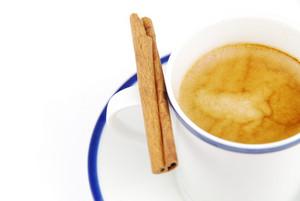 Espresso Coffee With Cinnamon