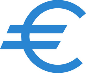 Euro Currency Simplicity Icon