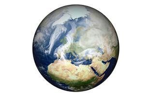 Europe And Africa Globe